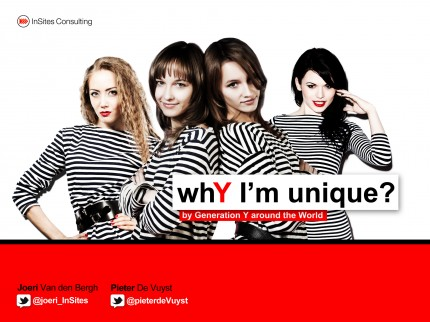 WhY I'm unique? by Generation Y around the world