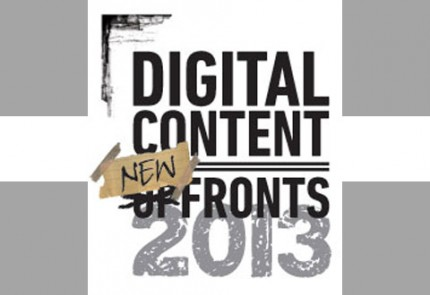 Digital content New Fronts 2013