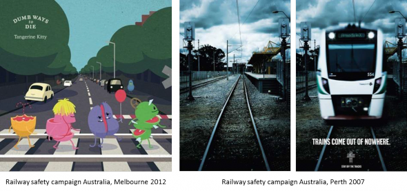 Railway safety campaigns