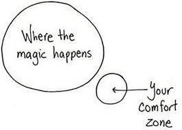 Get outside of your comfort zone