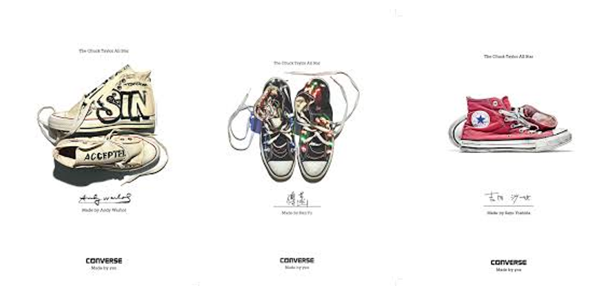Converse Made by You compilation