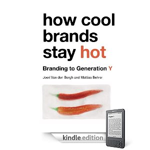 How Cool Brands Stay Hot available on Kindle