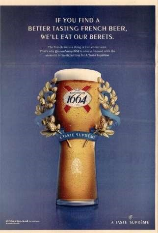 2014 Kronenbourg 1664 campaign by How Cool Brands Stay Hot