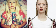 Iggy Azalea now and then
